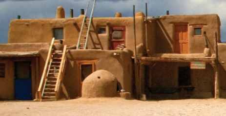 Native American Homes - Adoble Pueblo