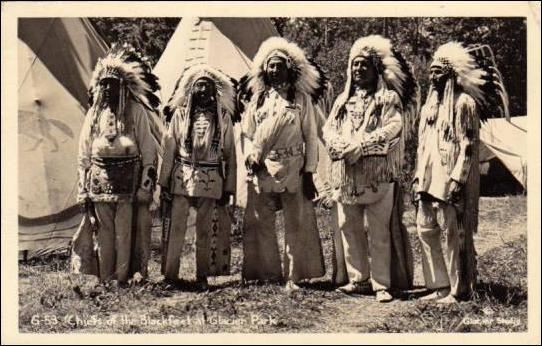 Early Native American- Blackfoot