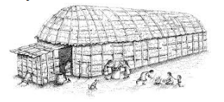 Native American Homes - Longhouse