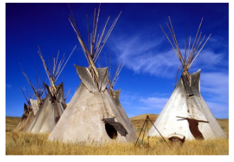Native American Homes - Teepees